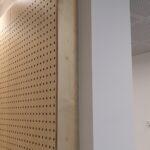 Akustik væg på Gilleleje Skole